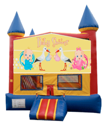 baby shower bounce house